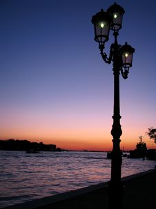 Free Venice At Night Stock Photography - 6870232