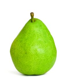 Fresh Green Pear Royalty Free Stock Photos