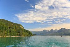 Free The Beautiful Countryside Around Lake Wolfgang Stock Photography - 6870842
