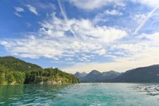 Free The Beautiful Countryside Around Lake Wolfgang Stock Photography - 6870852