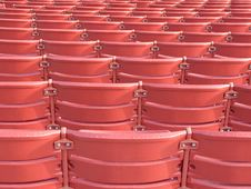 Free Red Seats Stock Image - 6871041