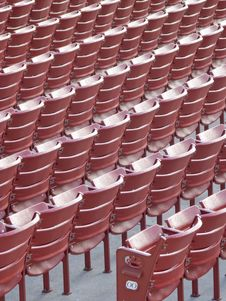 Free Red Seats Royalty Free Stock Images - 6871109
