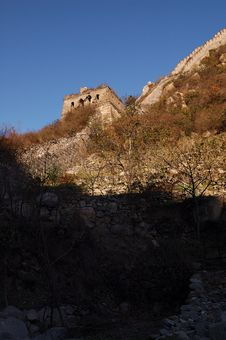 Free The Great Wall Royalty Free Stock Photo - 6871125