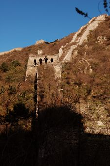 Free The Great Wall Royalty Free Stock Photos - 6871138