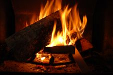 Free Fireplace Stock Photography - 6871412