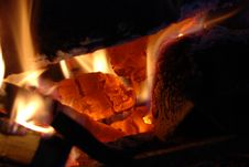 Free Fireplace Stock Photography - 6871472