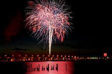 Free 07-04-06 Stuart, FL Fireworks (22) Royalty Free Stock Images - 6872259