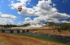 Free Midway Geyser Basin In Yellowstone Stock Photo - 6872330
