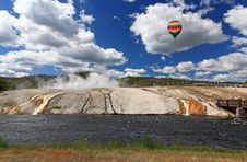 Free Midway Geyser Basin In Yellowstone Stock Image - 6872331