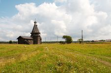 Old Wooden Church Of Ioann Zlatoust Stock Images