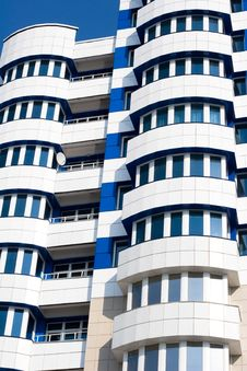 Free Blue And White Building Stock Photo - 6872850