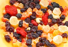 Free Dried Fruits Royalty Free Stock Photo - 6873195