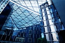 Free New Modern Business Centre Royalty Free Stock Image - 6873196