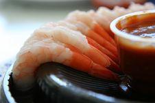Free Shrimp Appetizer Stock Photography - 6873212