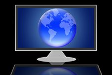 Global Tv Royalty Free Stock Photography