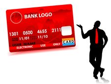 Free Businessman And Credit Card Stock Photos - 6874883