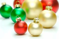 Free Christmas Tree Decorations Royalty Free Stock Photos - 6874968