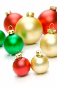 Free Christmas Tree Decorations Stock Image - 6874981