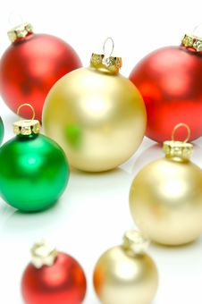 Free Christmas Tree Decorations Stock Image - 6875041