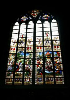 Free Stained Glass In A Church Royalty Free Stock Photos - 6875048