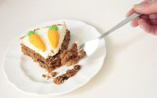Free Carrot Cake Stock Images - 6875624