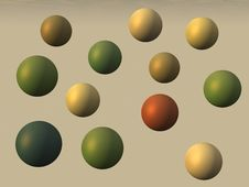 Free Old Paint Spheres Stock Photos - 6875923