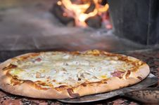 Pizza Fresh From The Oven Stock Images