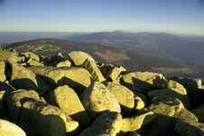 Giant Mountains Royalty Free Stock Image