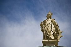 Old Town Of Innsbruck-statue Royalty Free Stock Photo