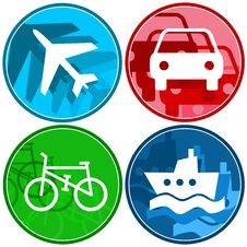 Free Transport Symbols Royalty Free Stock Photo - 6876335
