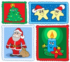Free Christmas Post Stamps Collection 2 Stock Photo - 6876760