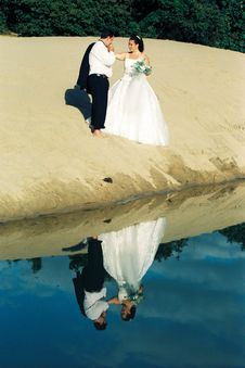 Free Reflections Of Marriage Royalty Free Stock Photography - 6877617