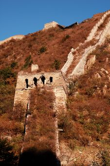 Free The Great Wall Royalty Free Stock Photo - 6877905