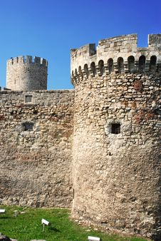 Free Tower Of Stone Fortress  In Belgrade Stock Photos - 6878153