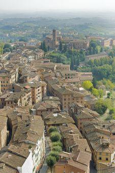 Free Landscape Of Siena S Hills Stock Photo - 6878210