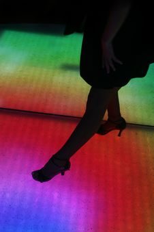 Free Dance Floor Royalty Free Stock Images - 6878249