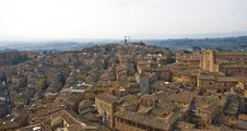 Free A View Of Siena From The Mangia S Tower Stock Photography - 6878332