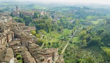 Free Siena S Hills And Houses Stock Photos - 6878363
