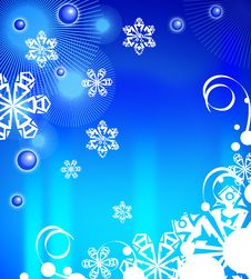 Free Winter Background 02 Royalty Free Stock Image - 6878886