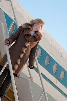Free Stewardess Stock Photo - 6879750