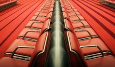 Free Red Chairs Royalty Free Stock Image - 6879776