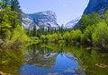 Free Mirror Lake, Yosemite Stock Photography - 6880152