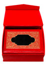 Free Red Cover Book With Golden Ornament In Red Box. Royalty Free Stock Photography - 6886157