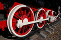 Free Wheels Of Vintage Locomotive Royalty Free Stock Image - 6887876