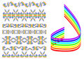 Free Rainbow Pattern Royalty Free Stock Images - 6889029
