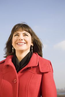 Free Smiling Woman Royalty Free Stock Image - 6880306