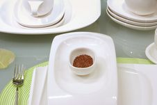 Free Modern Table Settings Stock Photography - 6880432