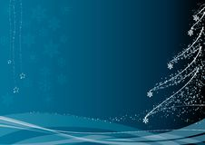 Free Christmas Decoration_blue Royalty Free Stock Photos - 6880538
