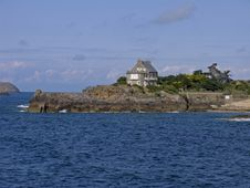 Free Rothéneuf, Bretonic House At The Sea, Brittany Royalty Free Stock Photography - 6881217