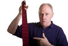 Free Older Guy Picking Out Tie Stock Images - 6881314